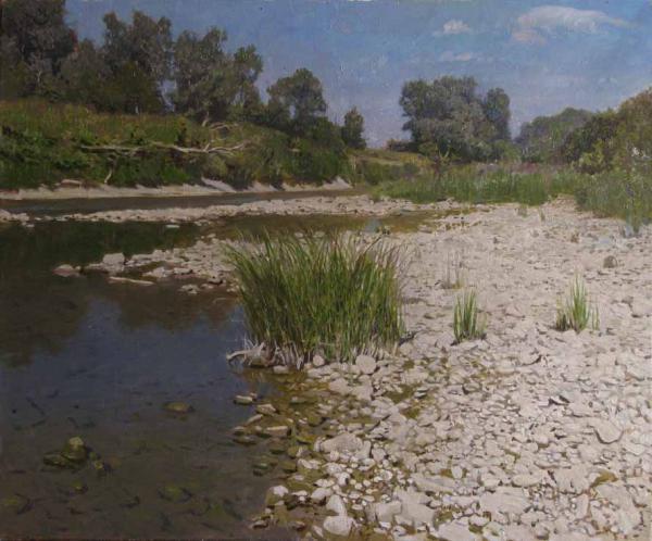 Александр Левченков. Река Псекупс близ курорта Горячий Ключ